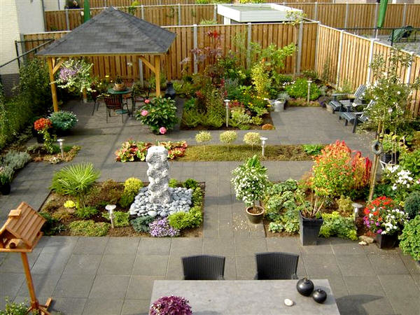 Tuin zelf tekenen en aanleggen