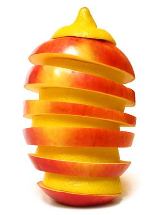 Creatief met groenten en fruit