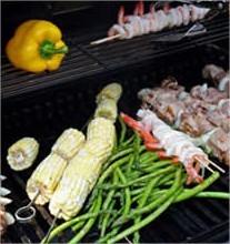 Groenten op de barbecue (uit eigen tuin)