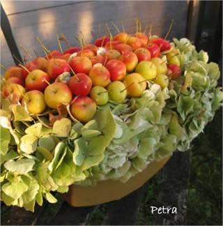 Bloemstukjes uit eigen tuin, workshop bloemschikken, bloemschikken met eigen materialen, tuinmaterialen bloemstuk maken