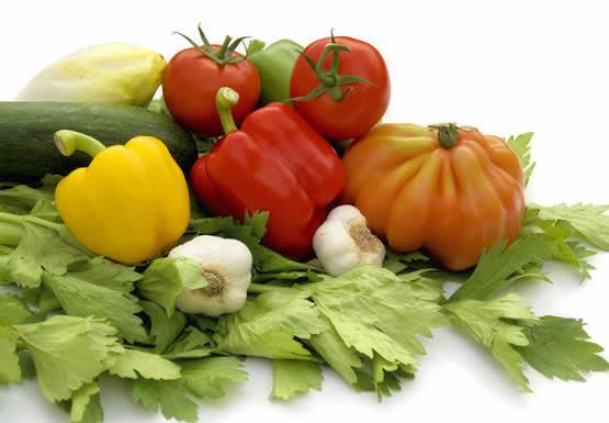 Verse groenten en groenten uit diepvries?