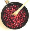 Confituur maken met veenbessen en peren