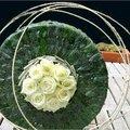Feestelijke floristieke taart
