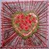 Bloemschikken Valentijn: bloemstukjes gemaakt door leden van het bloemschikforum