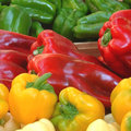 Vijf tinten groenten en fruit