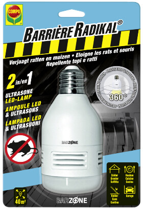 compo led-lamp tegen ongedierte