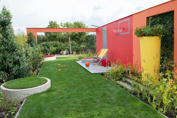 De energieke tuin