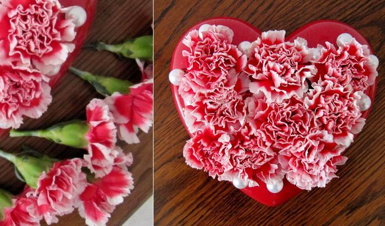 valentijnshart_bloemstuk_maken