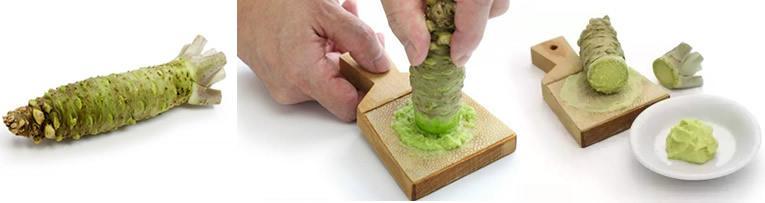 De pittige smaak van Wasabi of mierikswortel