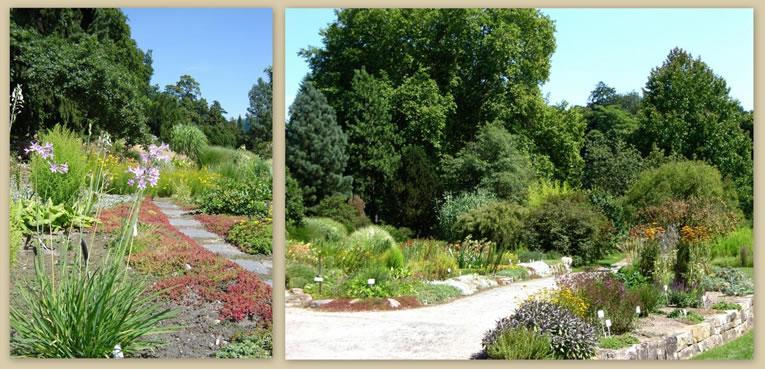 De botanische tuin, gelegen midden in het Park Sanssouci.
