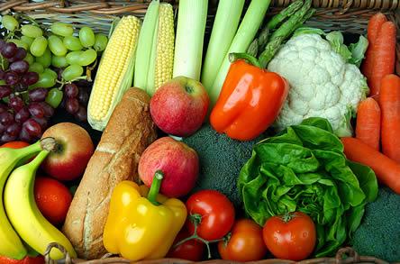 Gezonde conditie: groenten en fruit