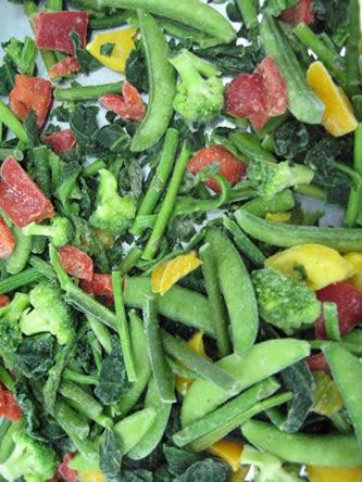 Ingevroren groenten: makkelijk en gezond