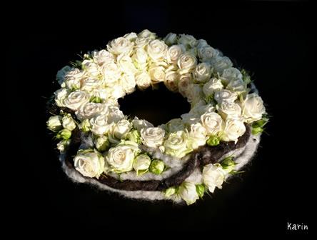 Leer bloemschikstukjes maken voor Allerheiligen