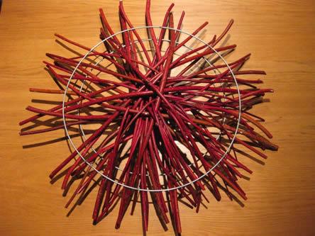 cornus gebruiken in een kerststukje