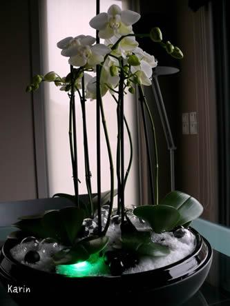 bloemschikken met ledverlichting