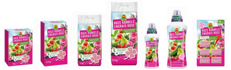 Compo roze korrels