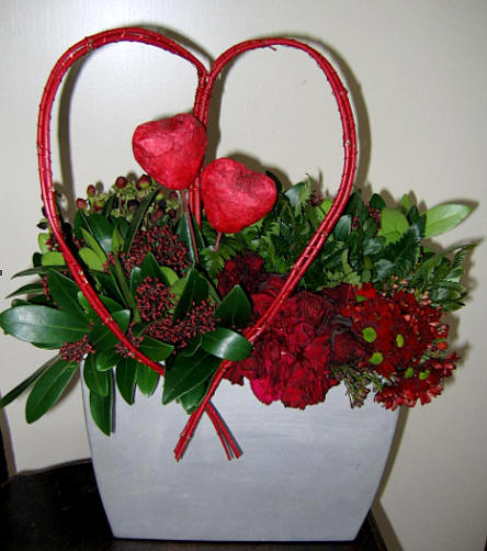 Een bloemstukje zelf maken voor jouw valentijn