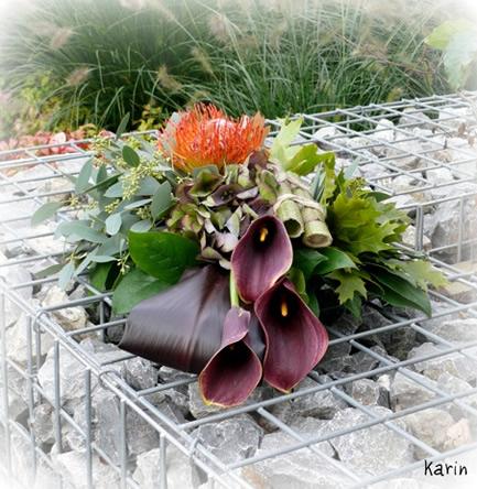 Maak een eigentijds bloemstuk - grafstuk