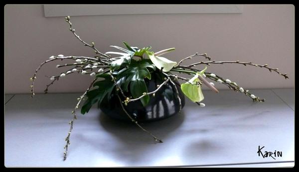 <H1>Bloemschikken lente of voorjaar met online bloemschikcursus