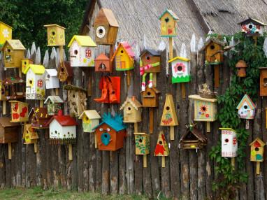 Hang nestkasten niet te dicht bij elkaar.