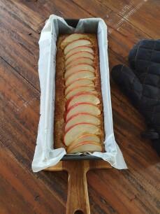 gebakken appelcake