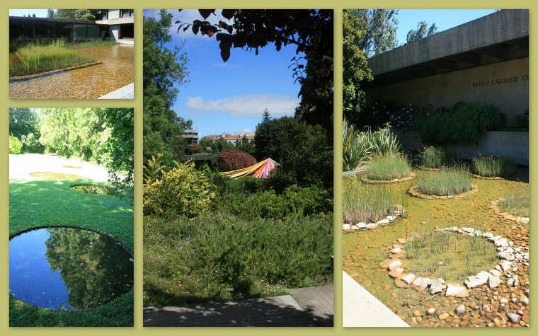 landschappelijke tuin van het Gulbenkianmuseum
