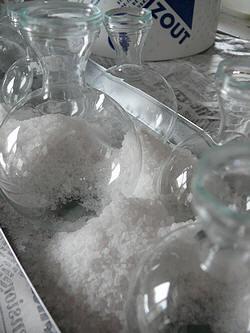 bloemstuk Valentijn - zout strooien