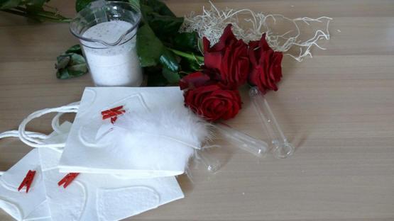 rode rozen voor Valentijn als symbool van liefde