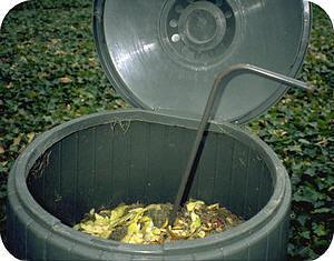 compostton om compost in te maken