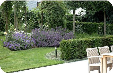 Tuinaannemer functie en prijzen van de tuinontwerper bij for Mooie tuinen afbeeldingen