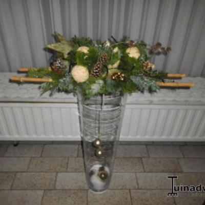 Amaryllis in hoge vaas for Decoratie stuk om te leven