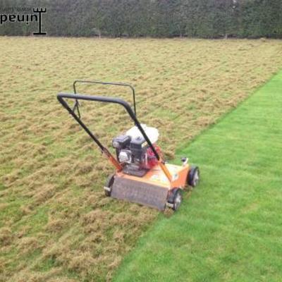 Grasonderhoud verticuteren gras