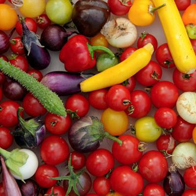 Mini groenten / dwerggroenten en mini fruit