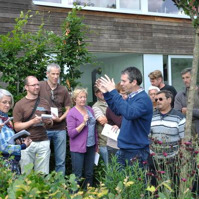 Open tuin en wandelvoordracht over nuttige en schadelijke insecten