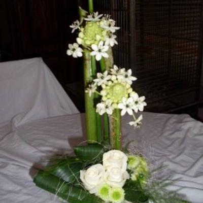 Cursusles linear bloemstuk maken