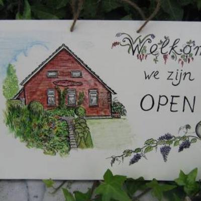 Open tuinen van onze leden in 2009