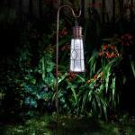 Lantaarn vuurtoren solar met grondhaak