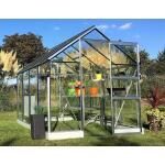 Drempelloze tuinkas Apollo All-in-One + veiligheidsglas 5 m²