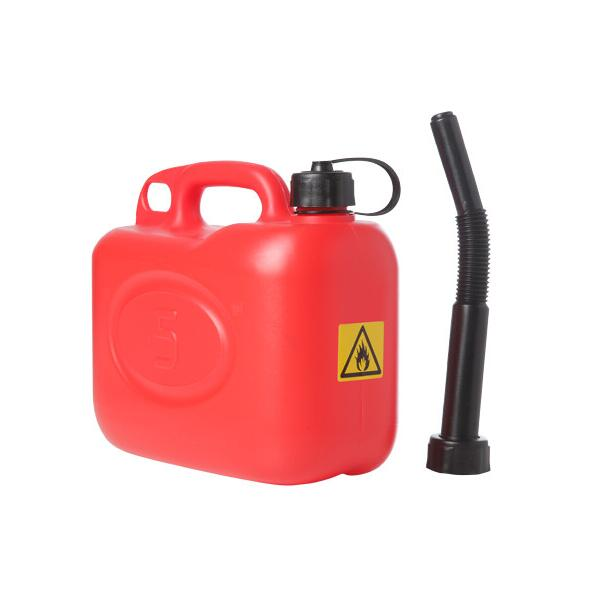 Jerrycan rood 5 liter