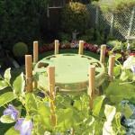 Bamboehouder bonen en erwten - olijfgroen