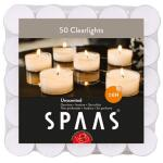 Clearlights theelichtjes 6 uren - transparante cups