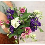 Veldboeket Fay - paars/roze/wit