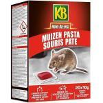 Muizen pasta Home Defense 20 x 10 g
