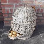 Wilgentenen aardappelmand