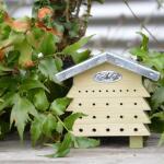 Bijenblok zinken dak