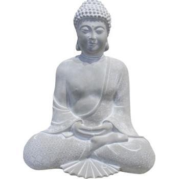 Boeddha Beeld Beton.Boeddha Zittend