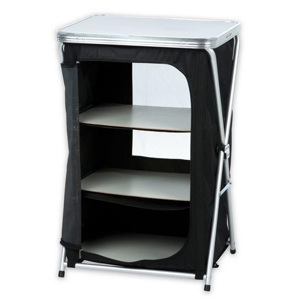opvouwbare campingkast kopen kast kopen voor het opbergen van spullen tijdens het camperen. Black Bedroom Furniture Sets. Home Design Ideas