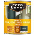 Cetabever Binnenbeits Deur, Kozijn & Meubel transparant zijdeglans, antraciet - 750 ml