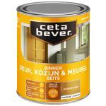 Cetabever Binnenbeits Deur, Kozijn & Meubel transparant zijdeglans, donker eiken - 750 ml