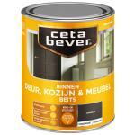 Cetabever Binnenbeits Deur, Kozijn & Meubel transparant zijdeglans, ebben - 750 ml